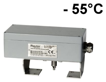 Ex ed ... - 55°C limit switch box with 2x Bartex limit switches for valve automation
