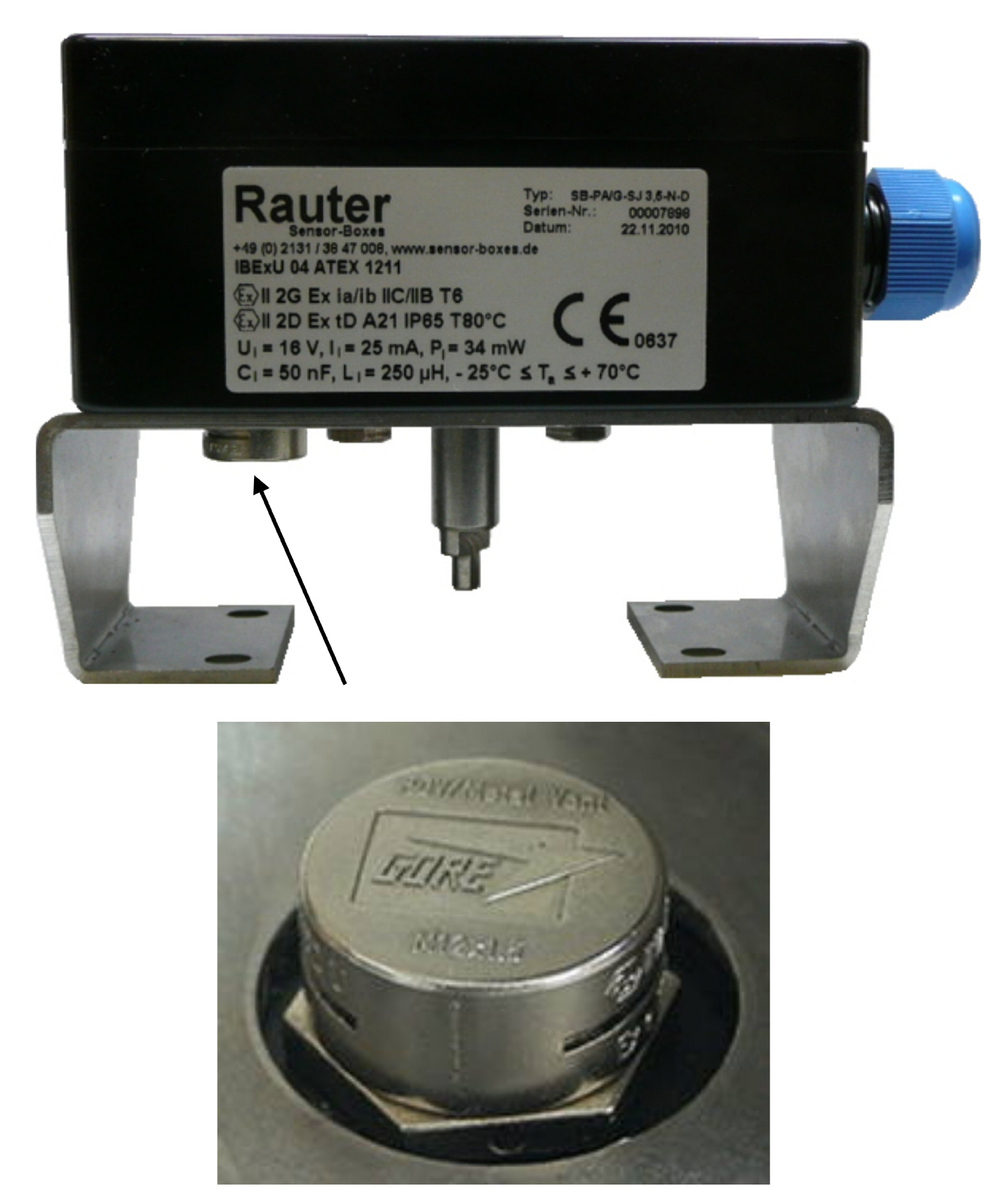 Rauter Sensor Boxes Germany With Limit Switch Boxes Valve